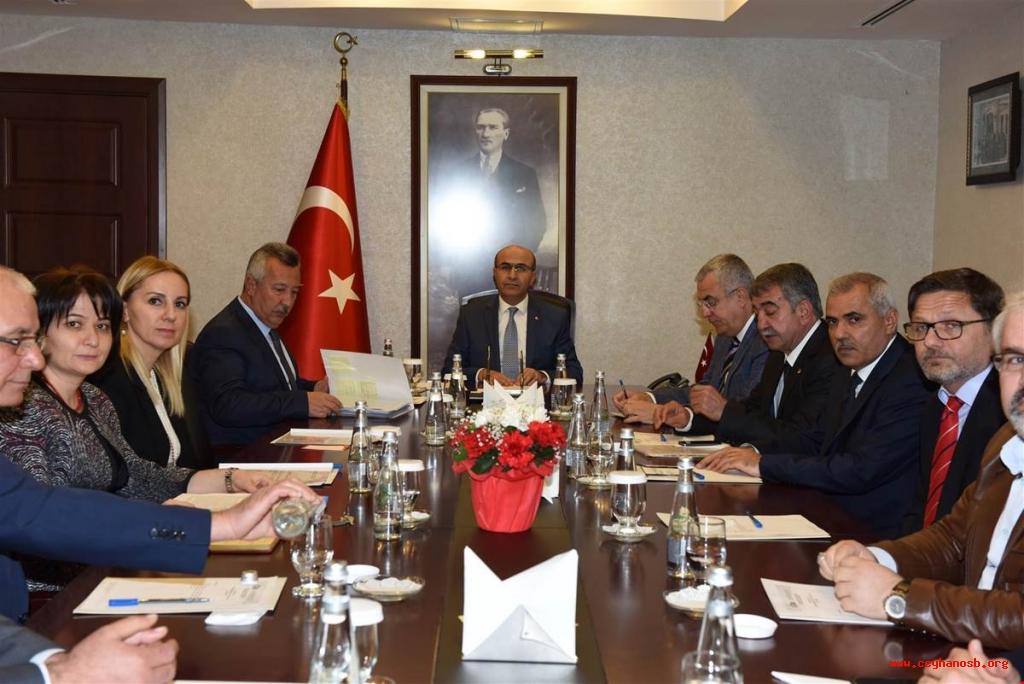 Adana Valiliği Yatırım İzleme Koordinasyon Başkanlığı Ve Ceyhan Osb Arasında Kamulaştırma Protokolü İmzalandı.