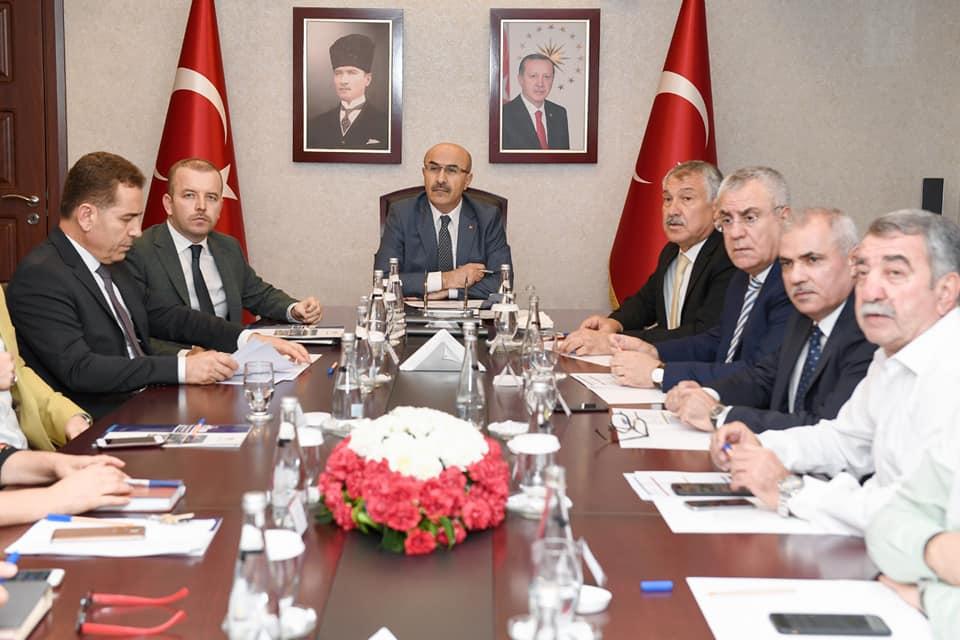 Ceyhan Organize Sanayi Bölgesi Olağan Müteşebbis Heyet Toplantısı Sayın Valimiz Mahmut Demirtaş başkanlığında gerçekleştirildi.