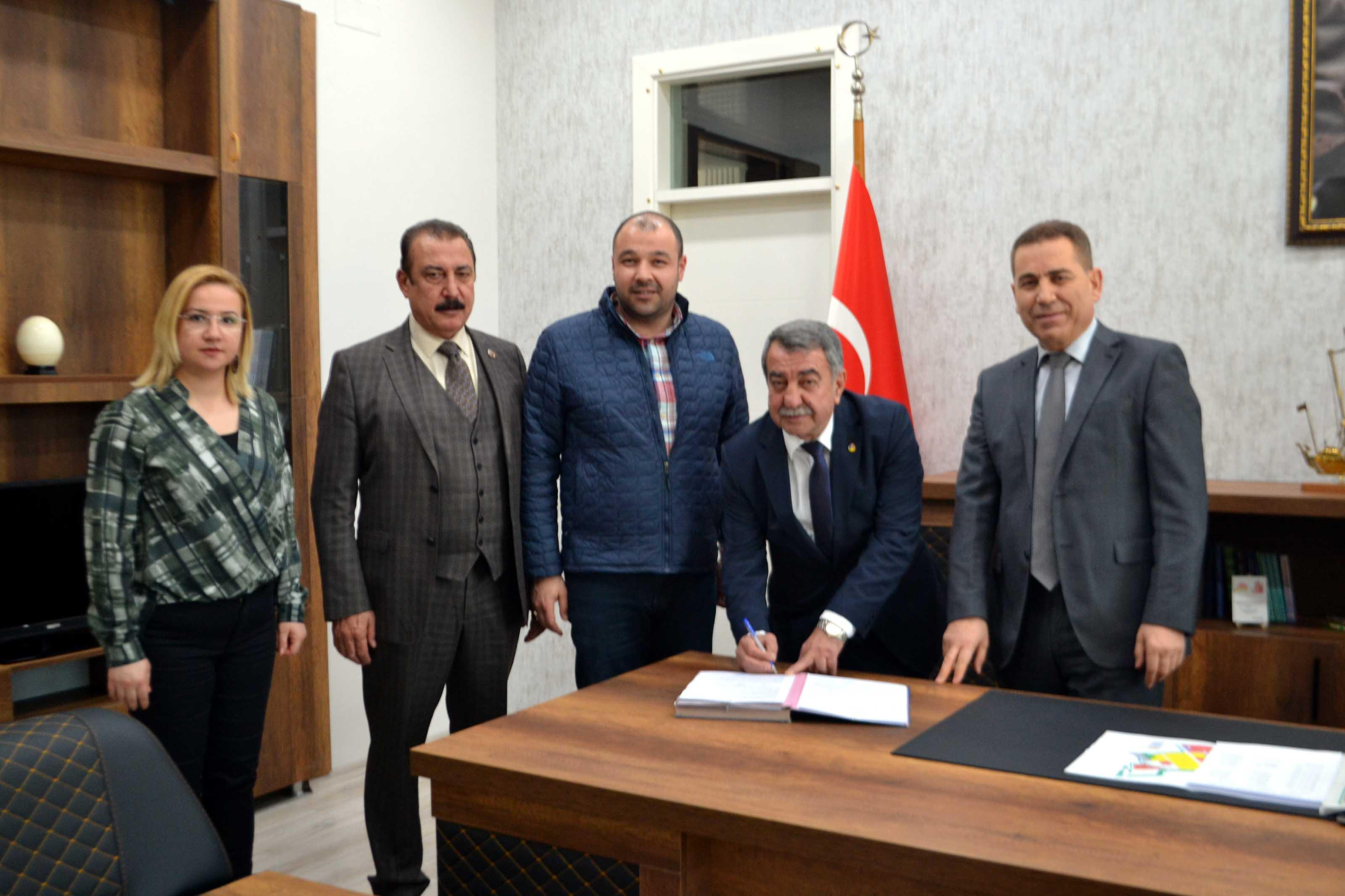 COSB İLK ARSA TAHSİSLERİ YAPILDI, 2020 DE İLK YATIRIMLAR BAŞLIYOR...